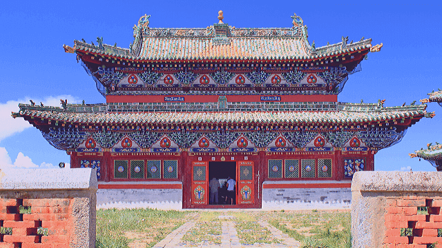 Best Places To visit in Mongolia and Tourist Attractions.The Erdene Zuu Monastery.