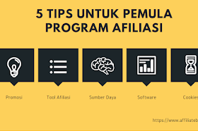 5 Tips Untuk Pemula Program Afiliasi
