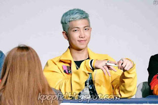 Foto Terbaru Rap Monster BTS 2016