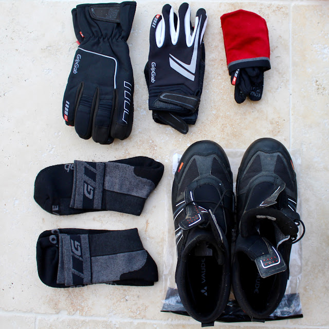 Gloves and Boots for Winter Cycling