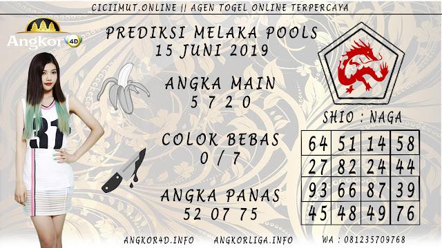 PREDIKSI MELAKA POOLS 15 JUNI 2019