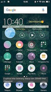 Tema Vivo V5 Green Over Final