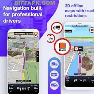 Sygic Truck GPS Navigation & Maps Mod Apk v20.5.2 build 2372 Final