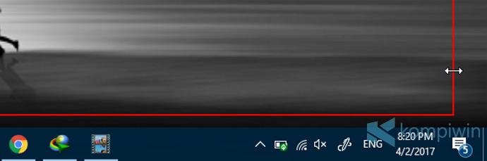 merekam layar hasil format gif