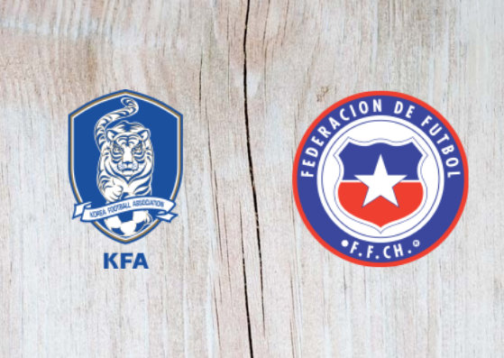 South Korea vs Chile Full Match & Highlights 11 September 2018