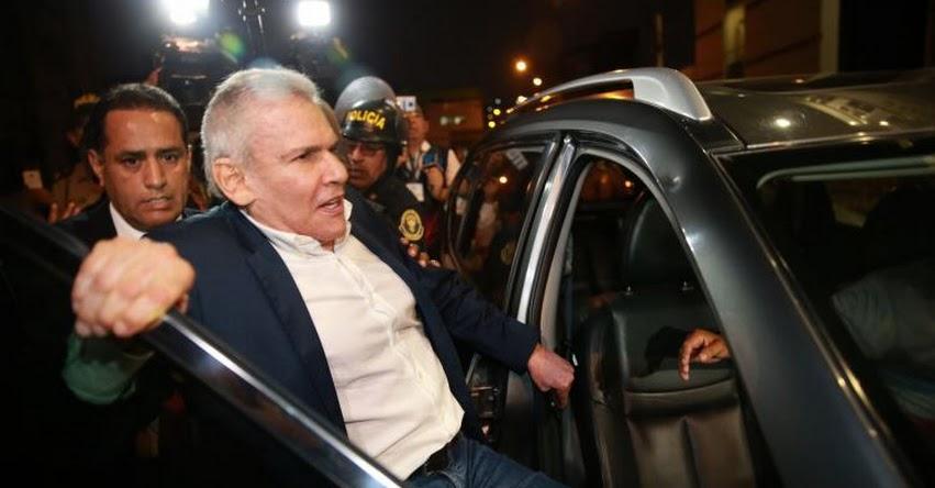 LUIS CASTAÑEDA LOSSIO: Jueza decide hoy si va a prisión por 36 meses el Ex Alcalde de Lima
