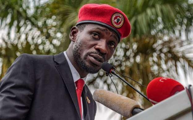 Ugandan presidential candidate Bobi Wine