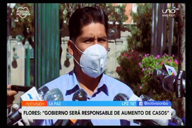 Masista Flores pide más recursos económicos para TSE y responsabiliza al Gobierno por posible aumento de casos