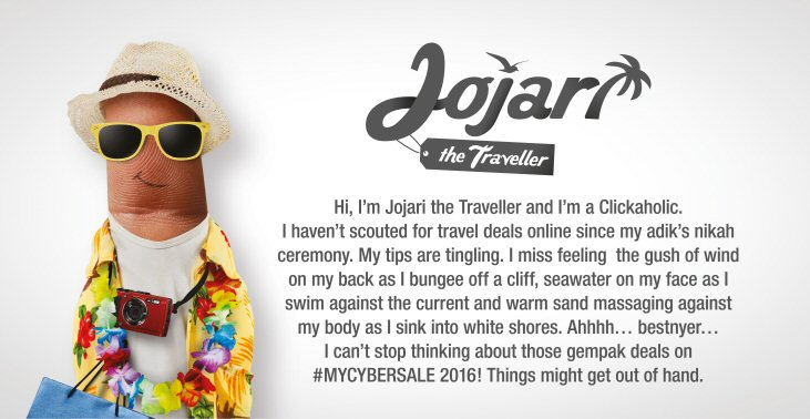 #MYCYBERSALE - Jojari, the Traveller