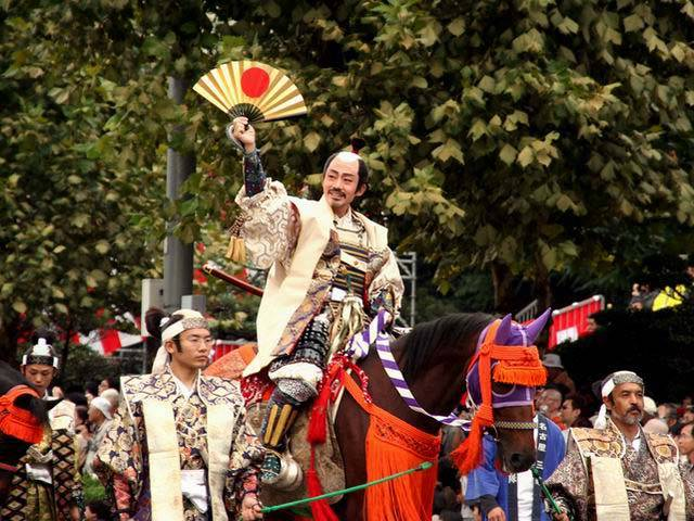 Nagoya City Festival (very long parade), Aichi Pref.