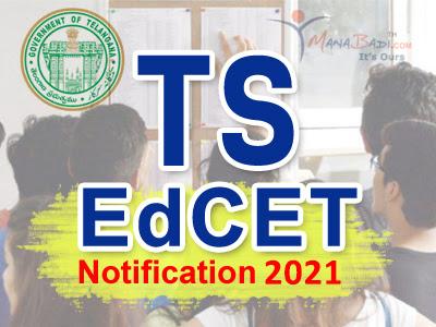 TS EdCET Notification 2021