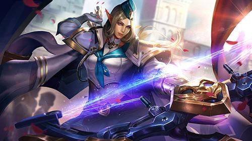 Nữ vương Tinh Linh của chúng ta có thể đánh cực kỳ xông xáo ở đầu game