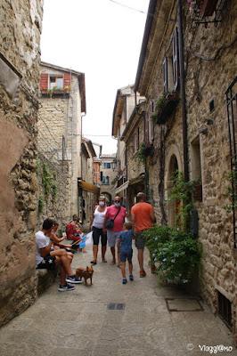 Vie medievali del centro storico di San Marino