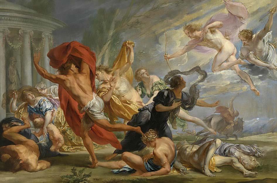 Os Nióbidos na Mitologia Grega