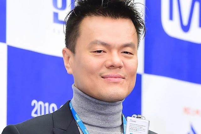 Foto Park Jin-young Pendiri Dan CEO Dari JYP Entertainment Corp