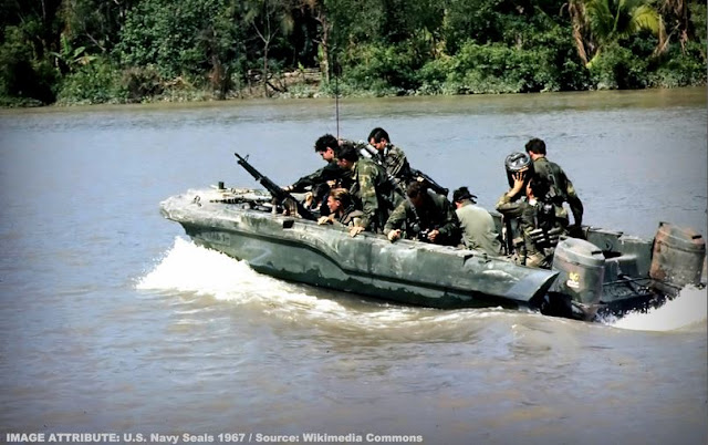 Image Attribute: U.S. Navy Seals- 1967 / Source: Wikimedia Commons