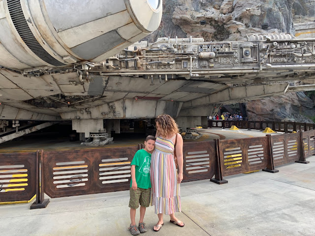 Galaxy's Edge with a child on the autism spectrum