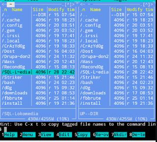 Hapus File folder tools termux