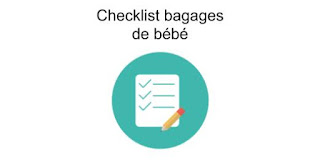 Checklist bagages de bébé à télécharger au format pdf