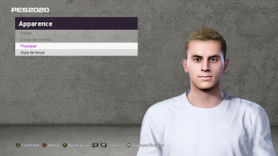 PES 2020 Faces Luca Ercolani by TiiToo