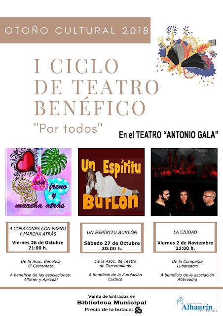 I Ciclo de Teatro Benéfico de Alhaurín el Grande