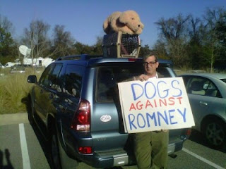 Chatter Busy Mitt Romney Dog On Roof