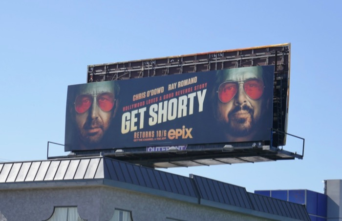 Get Shorty season 3 billboard