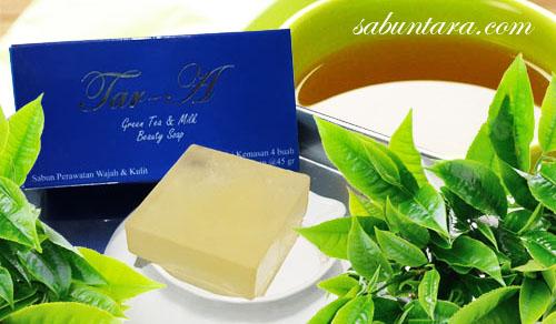 Sabun Tara 100% Herbal Tar-A Green Tea Milk Soap