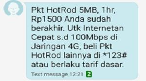Cara Berhenti Paket Internet XL