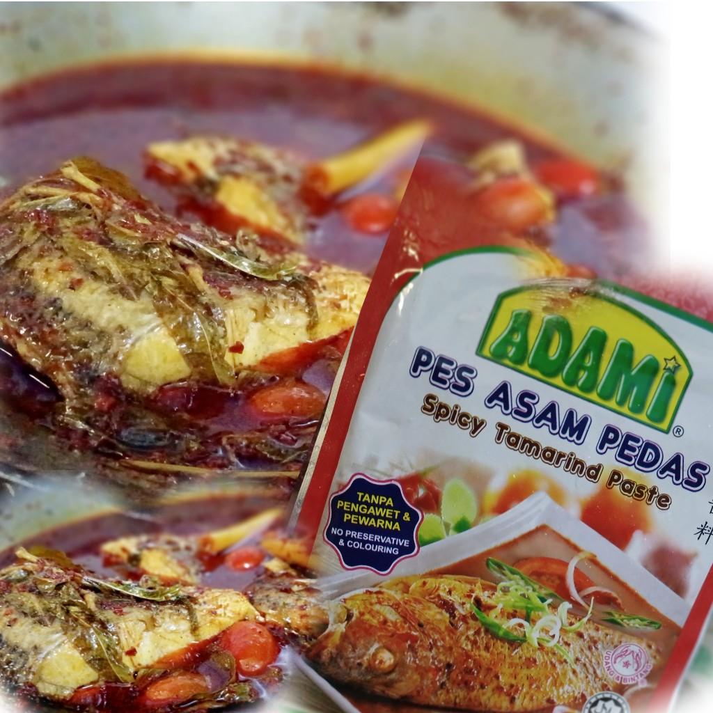 Resepi Ikan Siakap Masak Guna Pes Asam Pedas