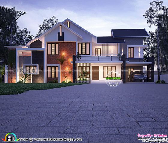 3356 square feet 4 bedroom modern home