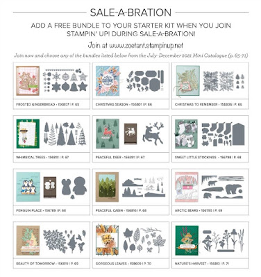 choose a bundle if you join stampin up in September 2021