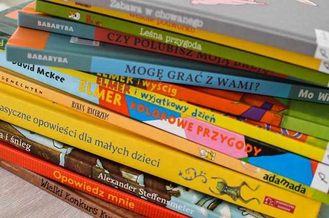 Noworoczny przegląd książek dla 3-latka