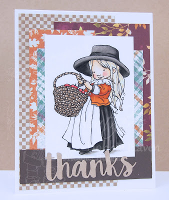 Heather's Hobbie Haven - Color Wednesday - Harvest Mercy Card