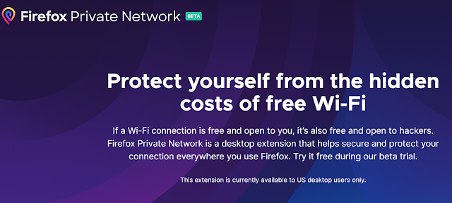 Firefox testa serviço de VPN