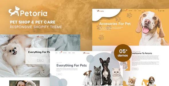 Best Pet Shop & Pet Care Responsive Shopify Theme