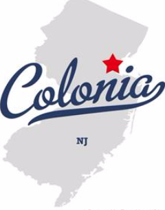 Colonia Middle School image of Colonia NJ on map of State of NJ