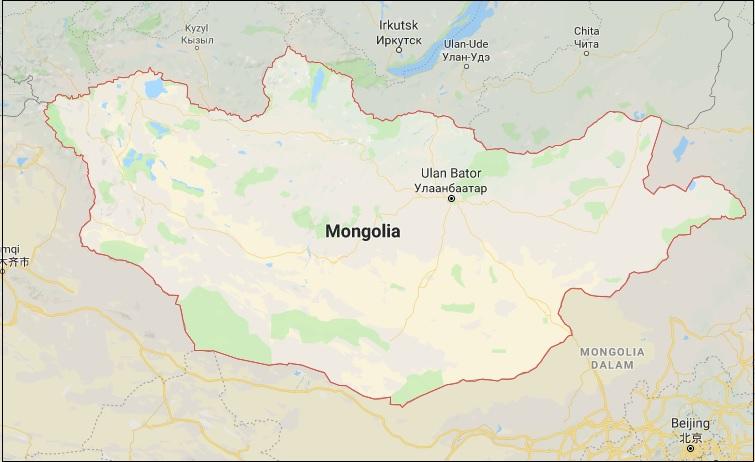Mongolia Map HD