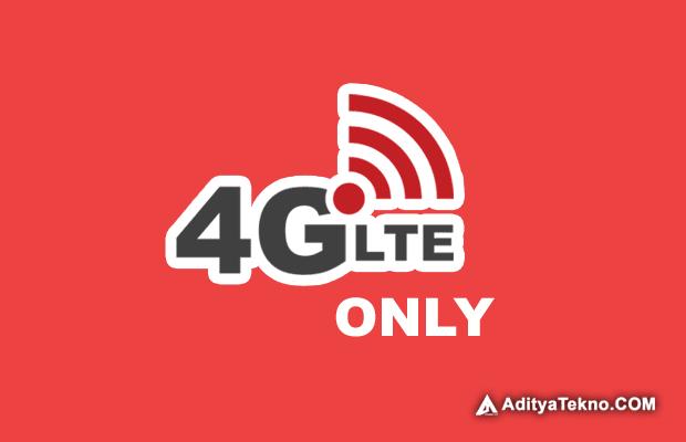 Cara Kunci Sinyal 4G Only di HP Android