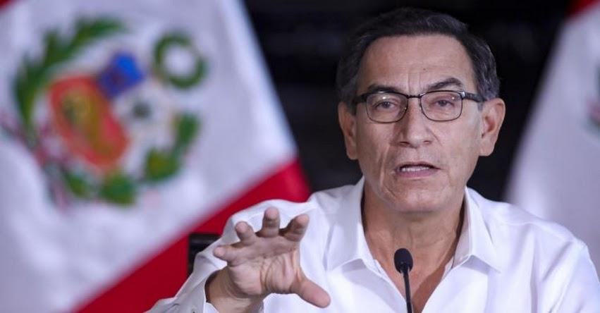 AFP EN LA MIRA: Presidente Vizcarra ratifica compromiso con reforma integral del sistema de pensiones
