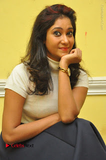 Telugu Actress Sindhu Affan Latest Pos in Black Skirt at Www.Meena Bazaar Movie Opening  0022.JPG