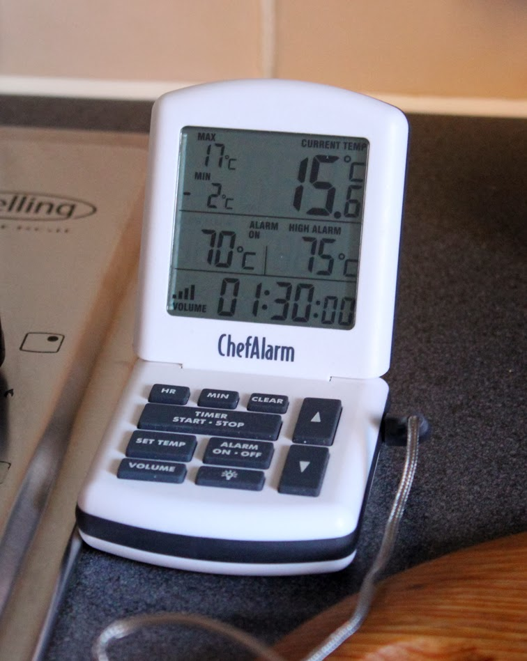 ChefAlarm Cooking Thermometer and Timer