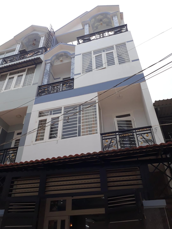 Bán nhà hẻm 201 Mã Lò phường Bình Trị Đông A quận Bình Tân. Dt 5x12m