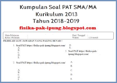 Soal UKK Kimia Kelas 10 11 Semester 2 Kurikulum 2013 dan Pembahasannya