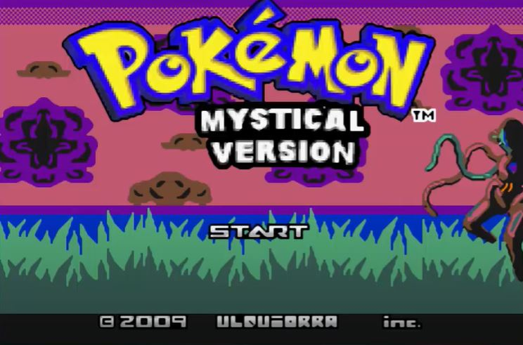 Pokemon Mystical para GBA Imagen Portada