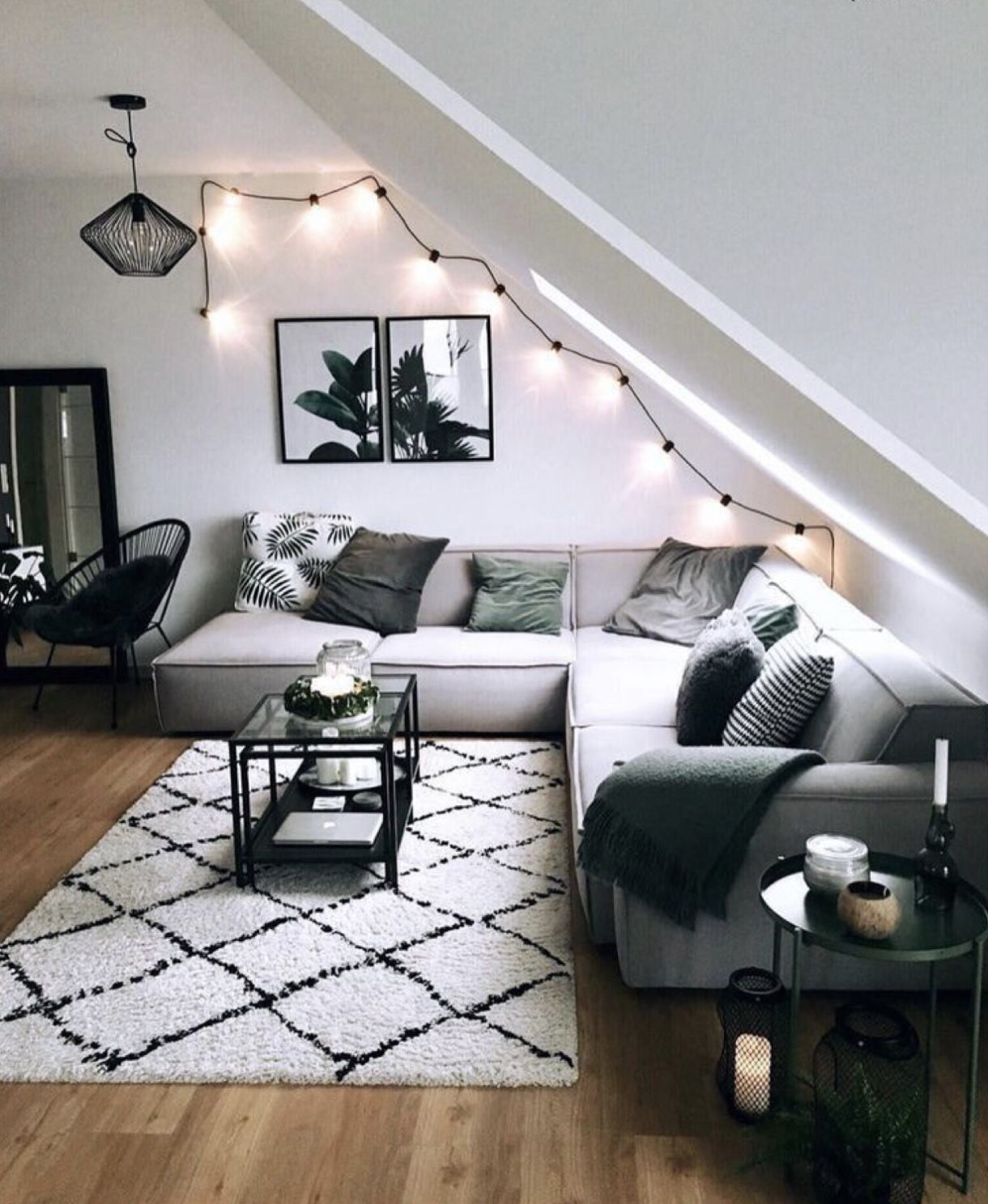cute living room design idea