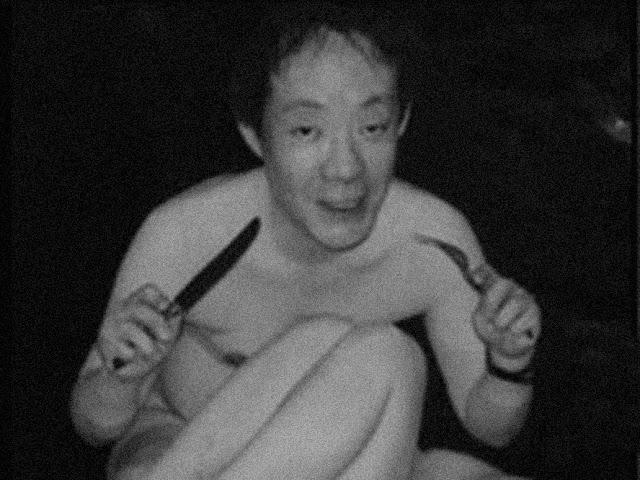 Issei Sagawa, artista, canibal e necrófilo, imagem utilizada em um álbum da banda Gnaw Their Thongs