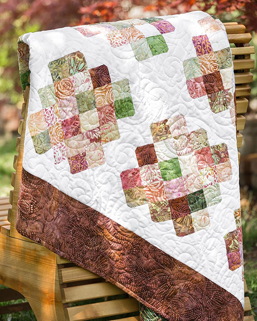 Turnabout Granny Squares Quilt Free Tutorial designed by Jenny of Missouri Quilt Co