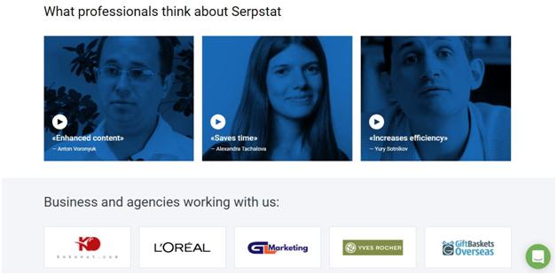 Serpstat Testimonials