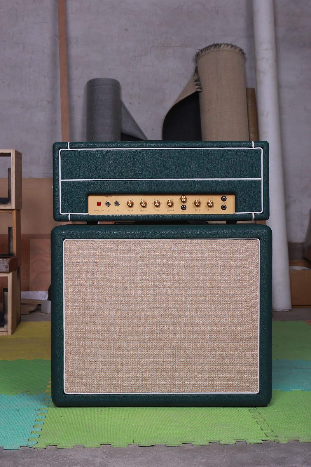 Genthry Guitar Blog: New Genthry 18 W TMB with PPIMV post